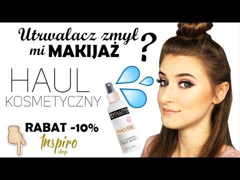 Haul kosmetyczny 2017 z Inspiroshop | test na żywo | RABAT -10% | klatex