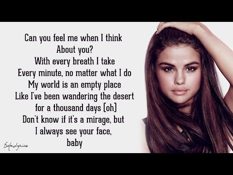 Selena Gomez & The Scene  A Year Without Rain Lyrics 🎵