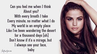 Selena Gomez & The Scene - A Year Without Rain (Lyrics) 🎵