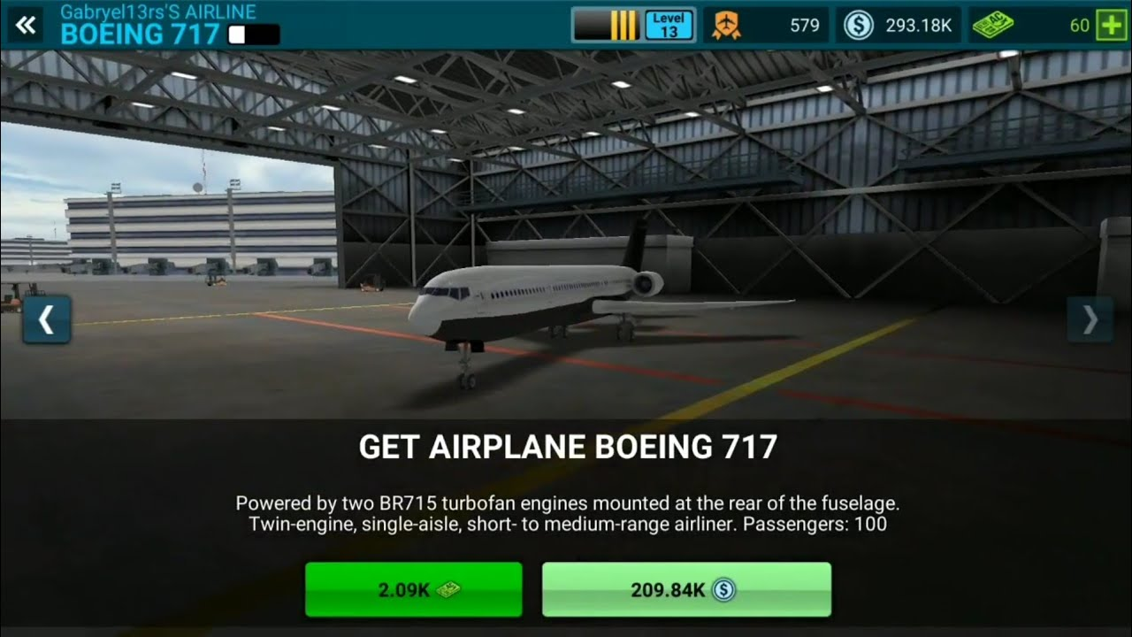 airline commander adquirindo o boeing 717 youtube