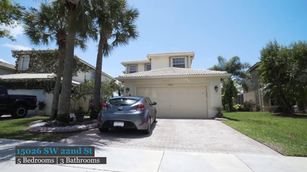 Charming 5 Bedroom Home In Miramar Now For Sale