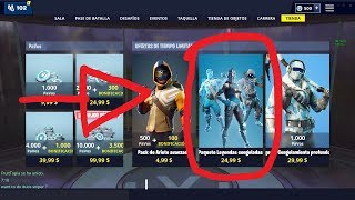 HOW TO HAVE FORTNITE'S ACONGELATED PACK EARLY (IT DOES NOT WORK)