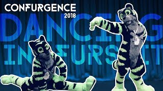 BLU DANCES IN FURSUIT! | Confurgence 2018 | Part 2