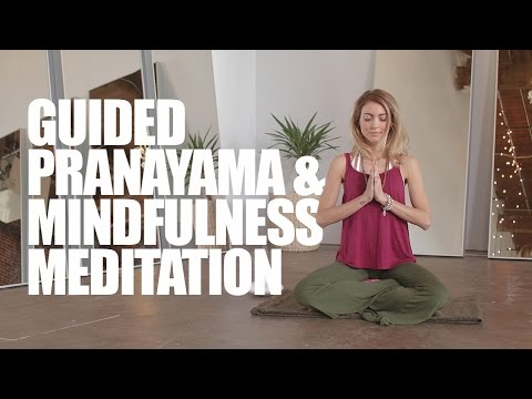 Guided Pranayama and Mindfulness Meditation for a Calm & Peaceful Mind