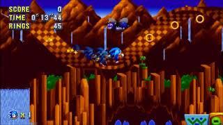 "Sonic Mania (PC) - Green Hill 2 Sonic: 27""38 (Speed Run)"