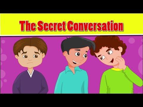Islamic Cartoon For Kids In English - The Secret Conversation - Little Muslim