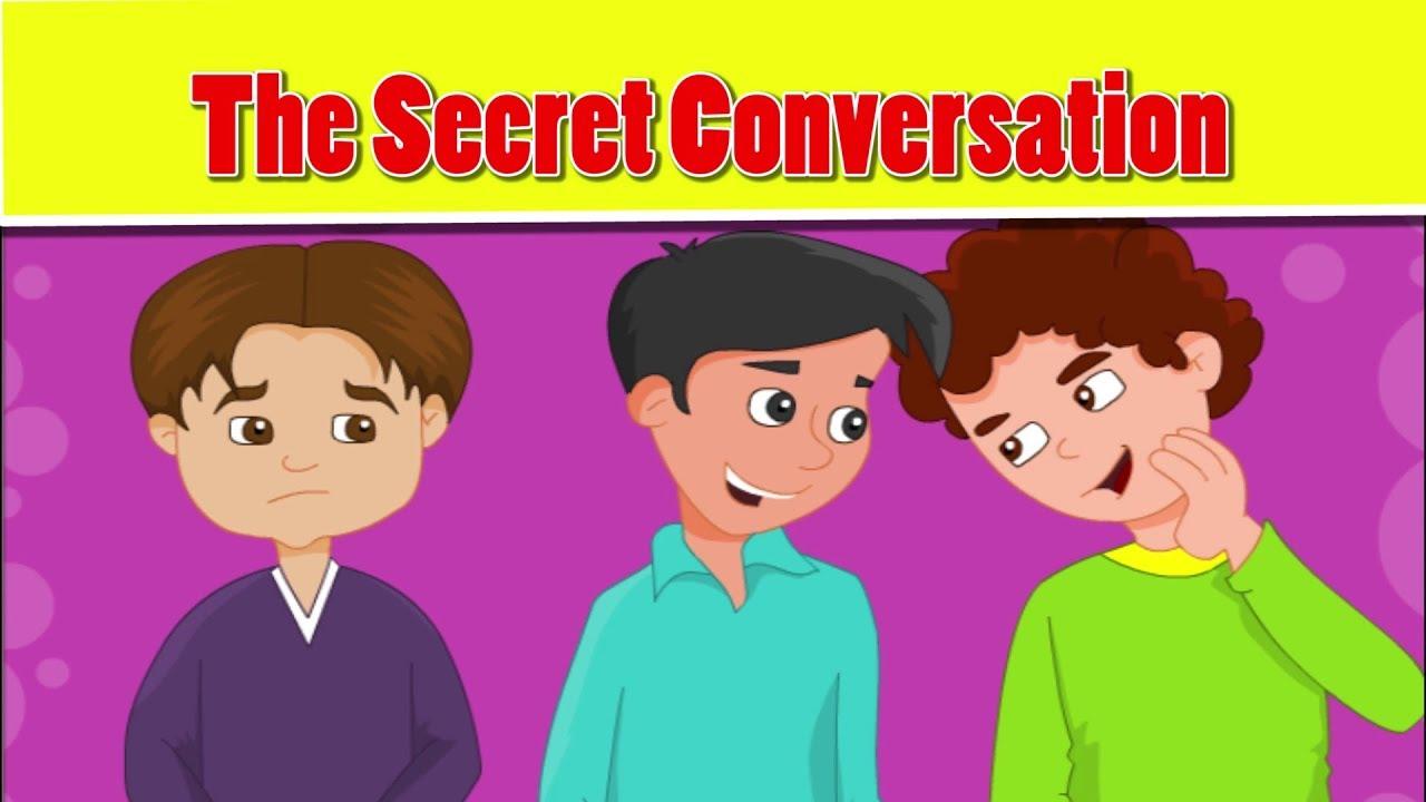Islamic cartoon for kids in english   The Secret Conversation   little  muslim