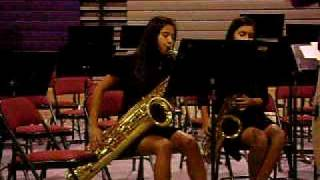 Two Moods for Four Saxophones