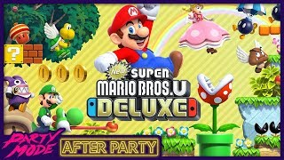 Nick is a Nightmare in NEW SUPER MARIO BROS U DELUXE - Party Mode