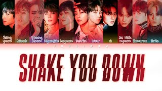 THE BOYZ (더보이즈) - Shake You Down (Color Coded Lyrics Han|Rom|Eng)