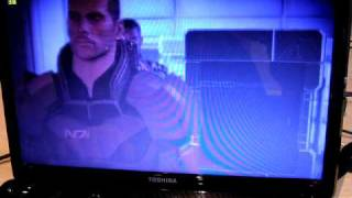 Mass Effect 2 gaming on a Toshiba L650 laptop