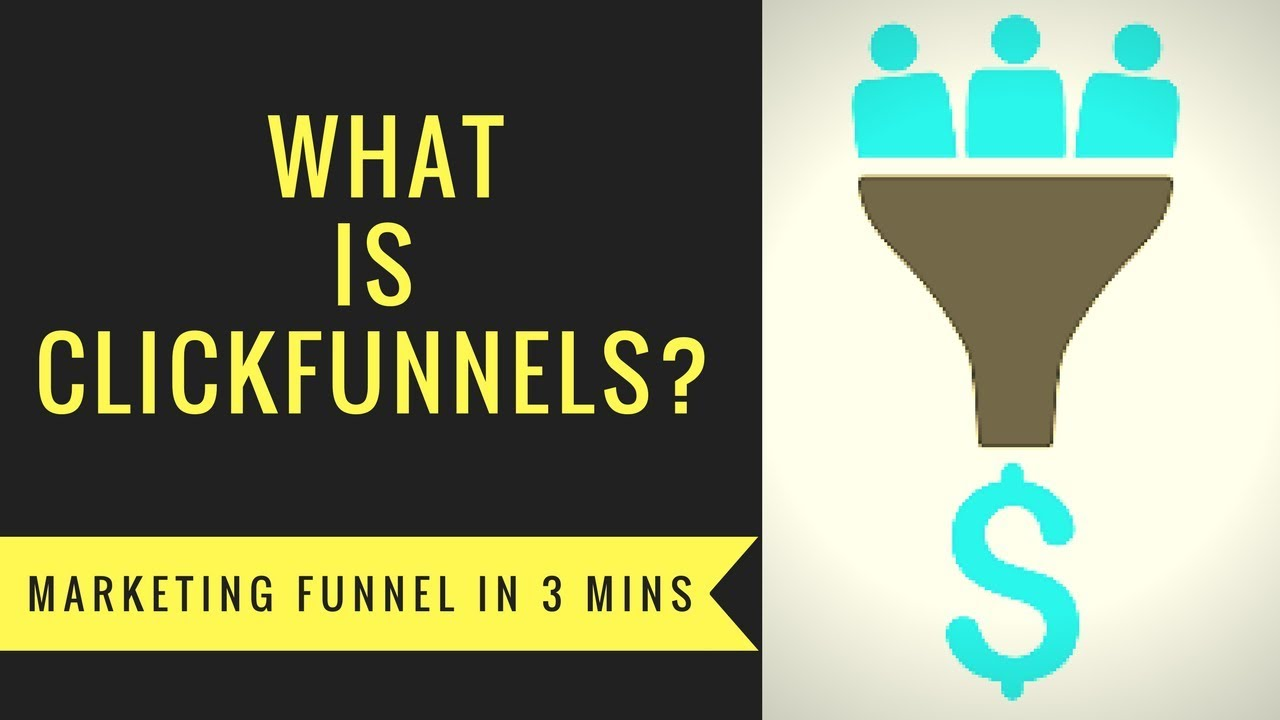 What is Clickfunnels - 3 Minute Marketing Funnel for Entrepreneurs, Real Estate, Ecommerce etc