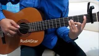 Belajar Kunci Gitar DeMeises Dengarlah Bintang Hatiku Intro