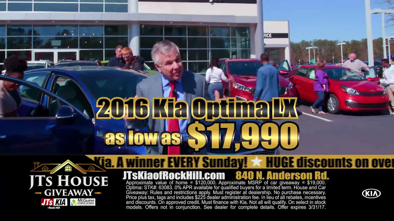stop by jts kia of rock hill before time is up youtube. Black Bedroom Furniture Sets. Home Design Ideas