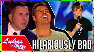 Cover images Never Seen Before: The HILARIOUSLY BAD Comedian (Britain's Got Talent/America's Got Talent PARODY)