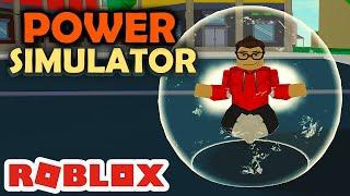 Machen Sie mich MÄCHTIG in der NEUEN SIMULATOR! -Roblox Power Simulator #01