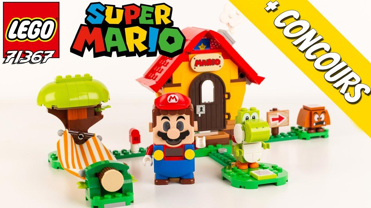 LEGO Super Mario La Maison de Mario et Yoshi 71367 Le Test + Annonce du concours