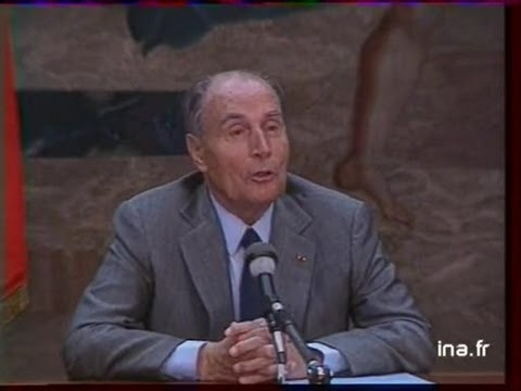 Interview François MITTERRAND