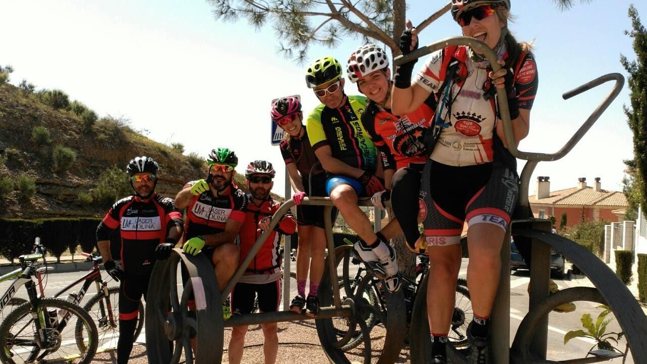 Quedada multitudinaria MTB BTT de ciclistas en Murcia - Coto Cuadros ...
