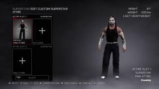 WWE 2K17 Jeff Hardy (CAW) Tutorial (PS4 Only)