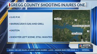Gregg County investigators searching for suspect involved in shooting
