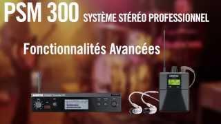 SHURE PSM 300 : Système de Ear Monitor Stéréo (La Boite Noire)