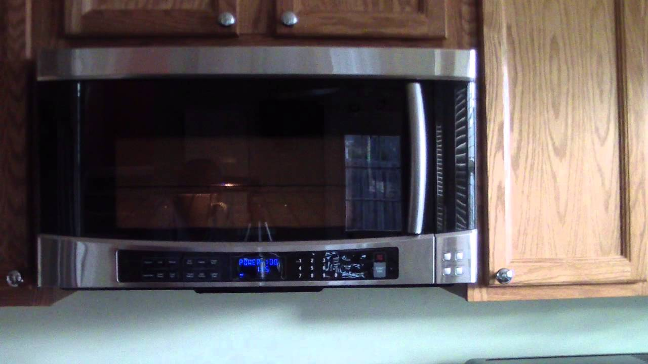 Samsung Microwave Smh9207st 1100w 2 0 Cu Ft Over The