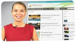 UFOs, ETs und Grenzwissenschaften: Das neue ExoMagazin.tv ist da!