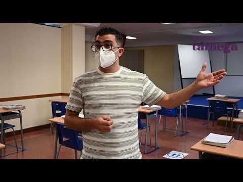 VÍDEO | O Colexio Mercedario amosa como atoparán os alumnos as súas aulas o día 23