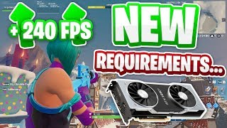 NEW Graphics Card Support Changes For Fortnite on PC...