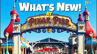 Top 5 New Additions to Pixar Pier!- Rides & Attractions