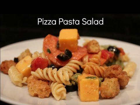 Vinnie's Vittles Pizza Pasta Salad
