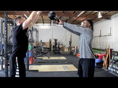 Top 10 Vertical Drills [#6 Kettlebell Spike] | Overtime Athletes