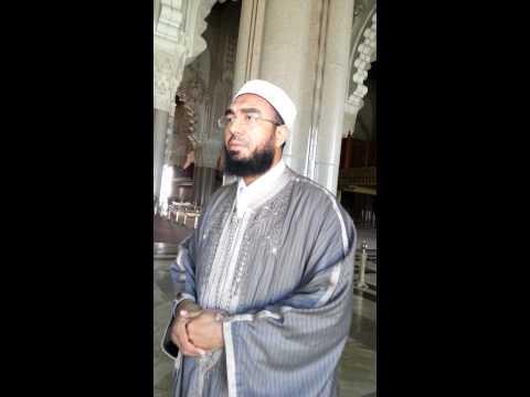 بشير بن حسن بمسجد الحسن الثاني بالدار البيضاء
