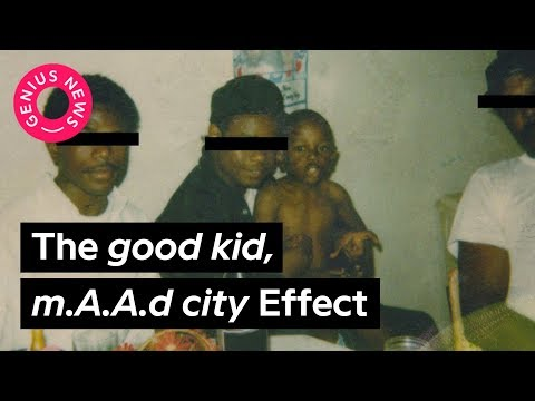 The Influence Of Kendrick Lamars 'good kid, mAAd city' In HipHop  Genius News
