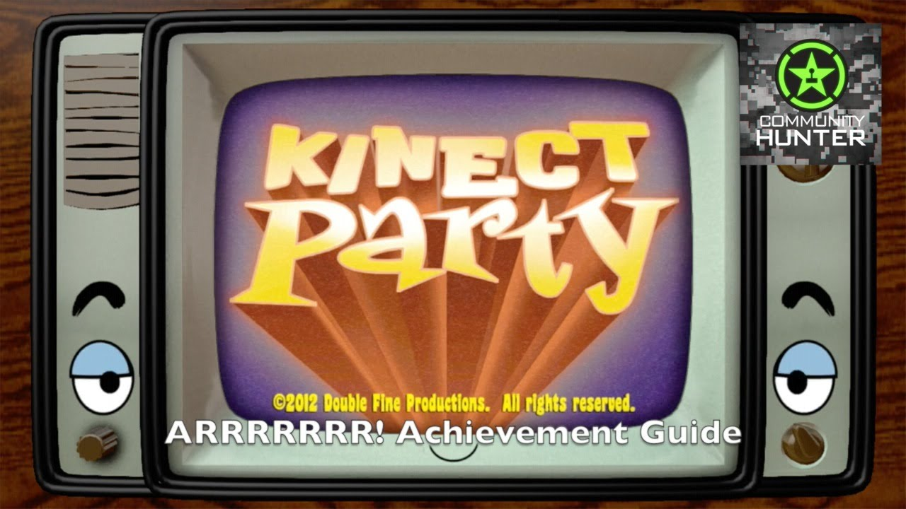 kinect party arrrrrrr guide youtube rh youtube com Xbox 360 Kinect Kinect Games Future