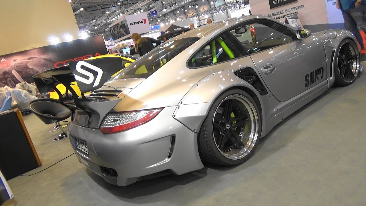porsche 911 turbo 997 2 siind sidney industries essen motor show 2016 youtube. Black Bedroom Furniture Sets. Home Design Ideas