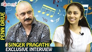 Super Singer Pragathi Guruprasad Exclusive Interview | Penn Drive | Bosskey TV