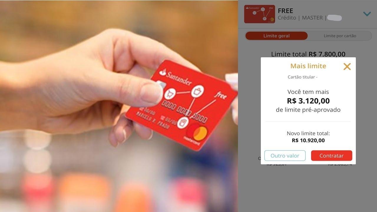 Saiba Como Ter Aumento De Limite No Santander Free Soufree Youtube