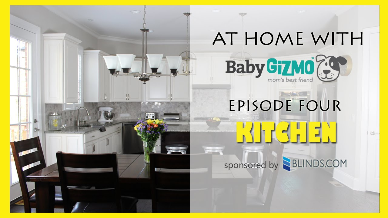 HOUSE TOUR - KiTCHEN WITH BABY GIZMO (EPISODE #4) - YouTube