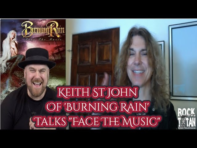 Keith St John explains Burning Rain formation and meeting Doug Aldrich