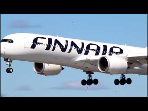 +10 MINUTES Spring spotting at Helsinki airport (a350,b787,a330)