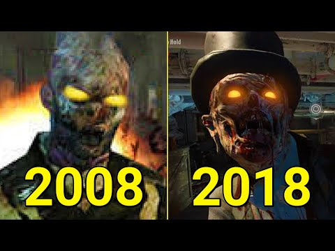 Evolution Of Call Of Duty Zombies 2008-2018