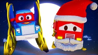 Carl el Super Camión 🚚 y El camión del Duende Gigante 🎅 en Auto City | Especial Navidad