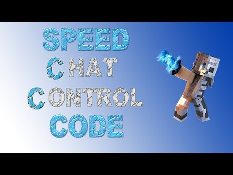 Minecraft Skript Speed Coding | Chat Control by Mainmup