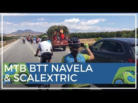 MTB BTT Sierra Navela Scalextric y Martillo con CC Fortuna Team