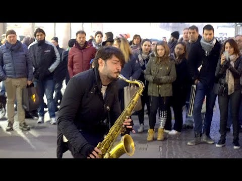''LEAN ON'' - STREET SAX PERFORMANCE