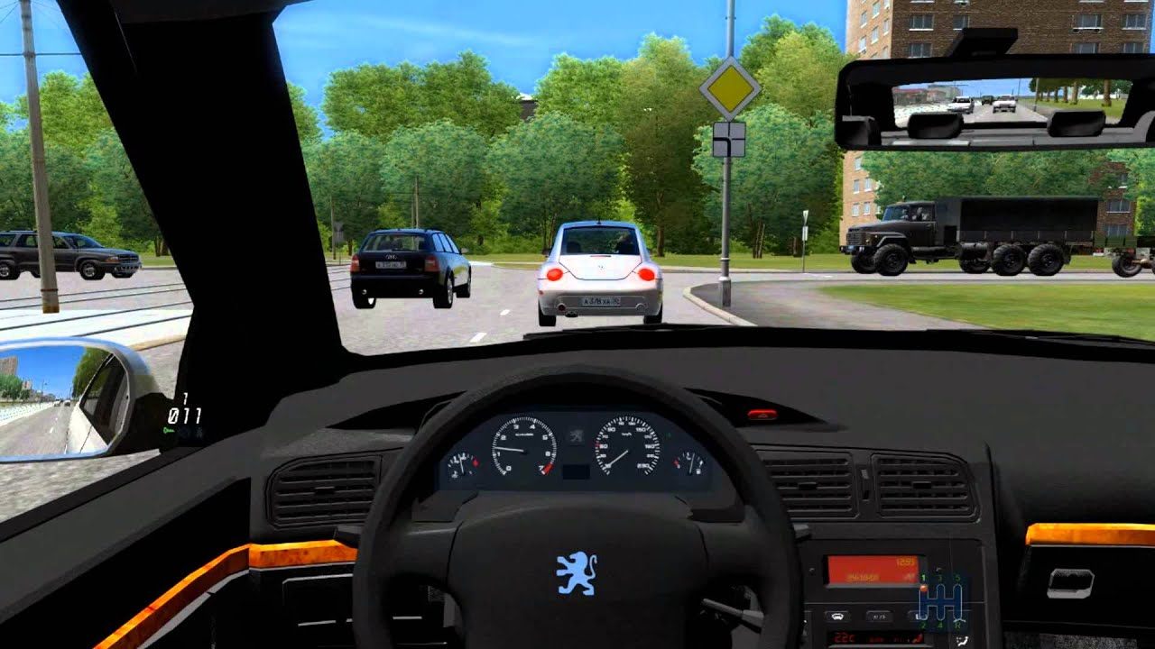City Car Driving 1 3 3 Peugeot 406 Doovi