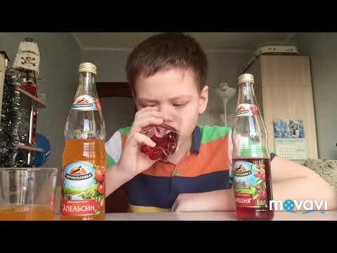 Пробую Напитки из Черноголовки со вкусом апельсина VS вишня— какой вкус лучше?