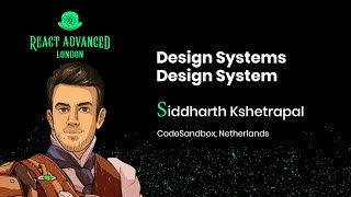 Design Systems Design System: Discovering New Ideas And Patterns - Siddharth Kshetrapal